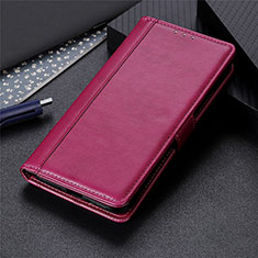 Funda de Cuero Cartera con Soporte Carcasa L03 para Samsung Galaxy S21 5G Rojo Rosa