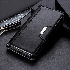 Funda de Cuero Cartera con Soporte Carcasa L03 para Sony Xperia 8 Lite Negro
