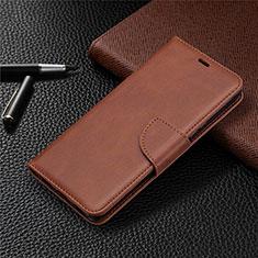 Funda de Cuero Cartera con Soporte Carcasa L03 para Sony Xperia L4 Marron