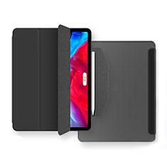 Funda de Cuero Cartera con Soporte Carcasa L04 para Apple iPad Air 10.9 (2020) Negro
