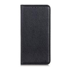 Funda de Cuero Cartera con Soporte Carcasa L04 para HTC Desire 19 Plus Negro