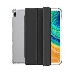 Funda de Cuero Cartera con Soporte Carcasa L04 para Huawei MatePad 5G 10.4 Negro