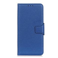 Funda de Cuero Cartera con Soporte Carcasa L04 para LG Velvet 4G Azul
