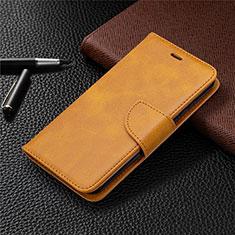Funda de Cuero Cartera con Soporte Carcasa L04 para Nokia 1.3 Naranja