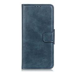 Funda de Cuero Cartera con Soporte Carcasa L04 para OnePlus Nord Azul