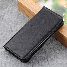 Funda de Cuero Cartera con Soporte Carcasa L04 para Samsung Galaxy S21 Ultra 5G Negro