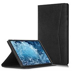 Funda de Cuero Cartera con Soporte Carcasa L04 para Samsung Galaxy Tab A7 Wi-Fi 10.4 SM-T500 Negro