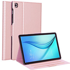 Funda de Cuero Cartera con Soporte Carcasa L04 para Samsung Galaxy Tab S5e Wi-Fi 10.5 SM-T720 Oro Rosa