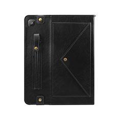 Funda de Cuero Cartera con Soporte Carcasa L04 para Samsung Galaxy Tab S6 Lite 4G 10.4 SM-P615 Negro