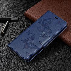 Funda de Cuero Cartera con Soporte Carcasa L04 para Sony Xperia L4 Azul