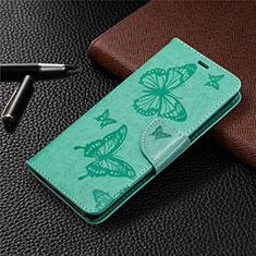 Funda de Cuero Cartera con Soporte Carcasa L04 para Sony Xperia L4 Verde