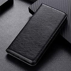 Funda de Cuero Cartera con Soporte Carcasa L04 para Xiaomi Poco X3 NFC Negro