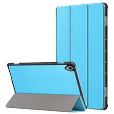 Funda de Cuero Cartera con Soporte Carcasa L05 para Huawei MatePad 10.8 Azul Cielo