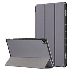 Funda de Cuero Cartera con Soporte Carcasa L05 para Huawei MatePad 10.8 Gris