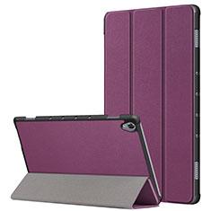 Funda de Cuero Cartera con Soporte Carcasa L05 para Huawei MatePad 10.8 Morado