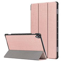 Funda de Cuero Cartera con Soporte Carcasa L05 para Huawei MatePad 10.8 Oro Rosa
