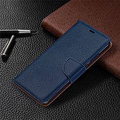 Funda de Cuero Cartera con Soporte Carcasa L05 para Nokia 5.3 Azul