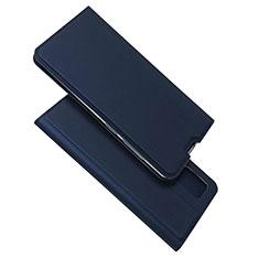 Funda de Cuero Cartera con Soporte Carcasa L05 para Samsung Galaxy A51 4G Azul