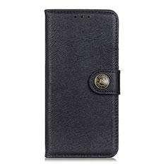 Funda de Cuero Cartera con Soporte Carcasa L05 para Xiaomi Poco X3 NFC Negro