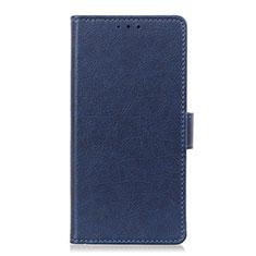 Funda de Cuero Cartera con Soporte Carcasa L06 para Huawei Honor 9X Lite Azul