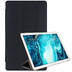 Funda de Cuero Cartera con Soporte Carcasa L06 para Huawei MediaPad M6 10.8 Negro