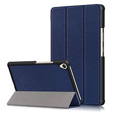 Funda de Cuero Cartera con Soporte Carcasa L06 para Huawei MediaPad M6 8.4 Azul