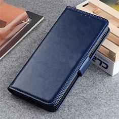 Funda de Cuero Cartera con Soporte Carcasa L06 para LG K22 Azul