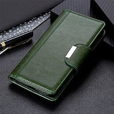 Funda de Cuero Cartera con Soporte Carcasa L06 para Nokia 1.3 Verde