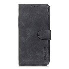 Funda de Cuero Cartera con Soporte Carcasa L06 para Xiaomi Poco X3 NFC Negro