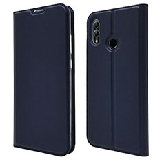 Funda de Cuero Cartera con Soporte Carcasa L07 para Huawei P Smart (2019) Azul