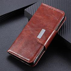 Funda de Cuero Cartera con Soporte Carcasa L07 para Huawei Y5p Marron