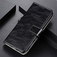 Funda de Cuero Cartera con Soporte Carcasa L07 para Motorola Moto G9 Plus Negro
