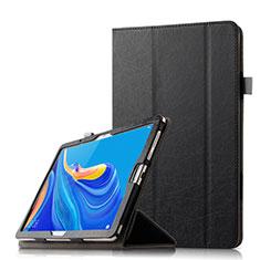 Funda de Cuero Cartera con Soporte Carcasa L08 para Huawei MediaPad M6 10.8 Negro