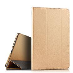 Funda de Cuero Cartera con Soporte Carcasa L08 para Huawei MediaPad M6 10.8 Oro