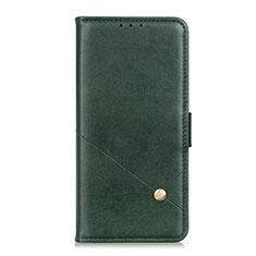 Funda de Cuero Cartera con Soporte Carcasa L08 para LG K52 Verde