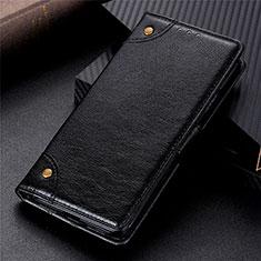 Funda de Cuero Cartera con Soporte Carcasa L09 para Huawei Y8s Negro