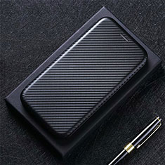 Funda de Cuero Cartera con Soporte Carcasa L09 para LG K52 Negro