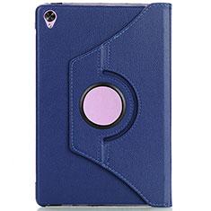 Funda de Cuero Cartera con Soporte Carcasa L10 para Huawei MediaPad M6 10.8 Azul