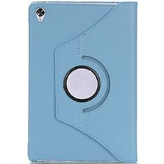 Funda de Cuero Cartera con Soporte Carcasa L10 para Huawei MediaPad M6 10.8 Azul Cielo