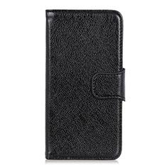 Funda de Cuero Cartera con Soporte Carcasa L11 para Xiaomi Mi 10 Ultra Negro