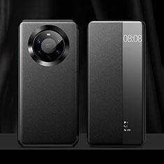 Funda de Cuero Cartera con Soporte Carcasa L12 para Huawei Mate 40 Pro+ Plus Negro