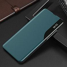 Funda de Cuero Cartera con Soporte Carcasa L15 para Xiaomi Redmi K30S 5G Cian