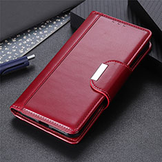 Funda de Cuero Cartera con Soporte Carcasa L17 para Huawei P40 Lite Rojo Rosa