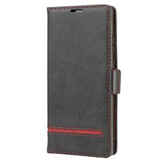 Funda de Cuero Cartera con Soporte Carcasa N11 para Samsung Galaxy Note 20 5G Negro