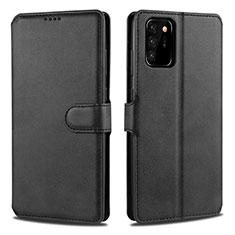Funda de Cuero Cartera con Soporte Carcasa N12 para Samsung Galaxy Note 20 Ultra 5G Negro