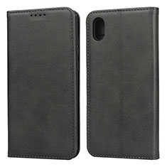 Funda de Cuero Cartera con Soporte Carcasa para Huawei Enjoy 8S Negro