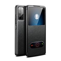 Funda de Cuero Cartera con Soporte Carcasa para Huawei Honor 30 Lite 5G Negro