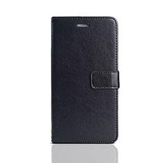 Funda de Cuero Cartera con Soporte Carcasa para Huawei Honor 7S Negro