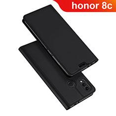 Funda de Cuero Cartera con Soporte Carcasa para Huawei Honor Play 8C Negro