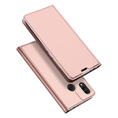 Funda de Cuero Cartera con Soporte Carcasa para Huawei Honor Play 8C Oro Rosa
